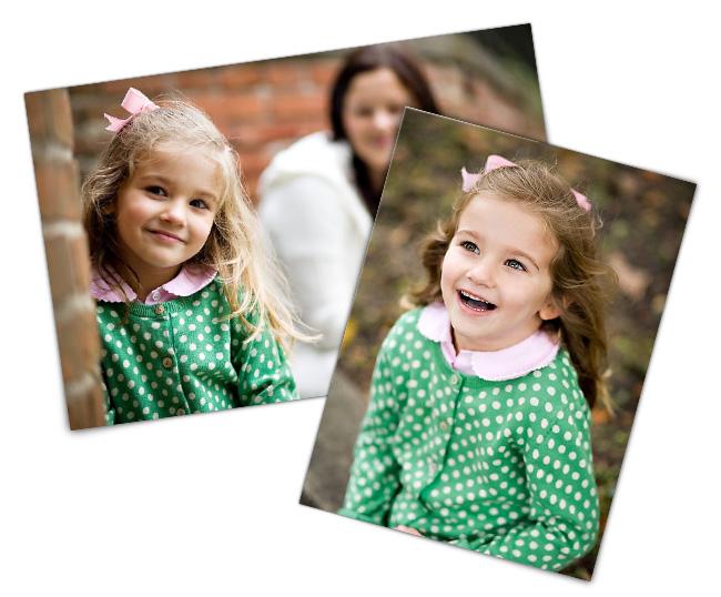 Фотографии девочки в зеленом платье