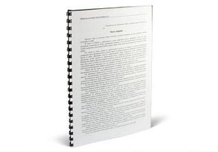 Печать и твердый переплет дипломов брошюровка и прошивка СПб Брошюрование дипломной на пружину