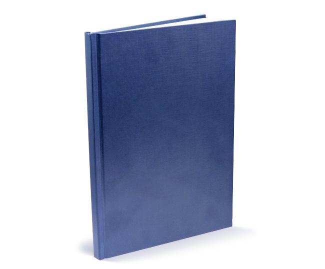 Срочная печать и переплет диссертаций и авторефератов в СПб  Синий твердый переплет