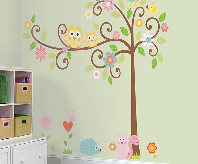 Рисунки для наклеек на стены