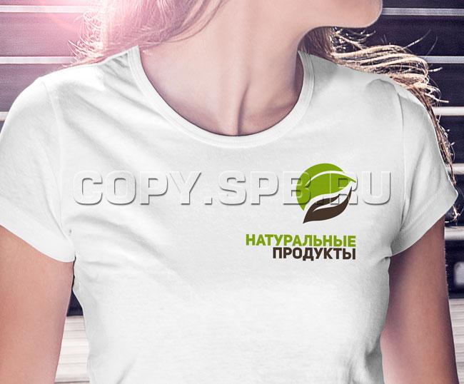 Метод шелкографии на футболке