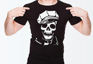 Печать на футболках в СПб на заказ  надпись 005c6ce217a27