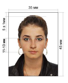 какое фото должно быть на паспорт